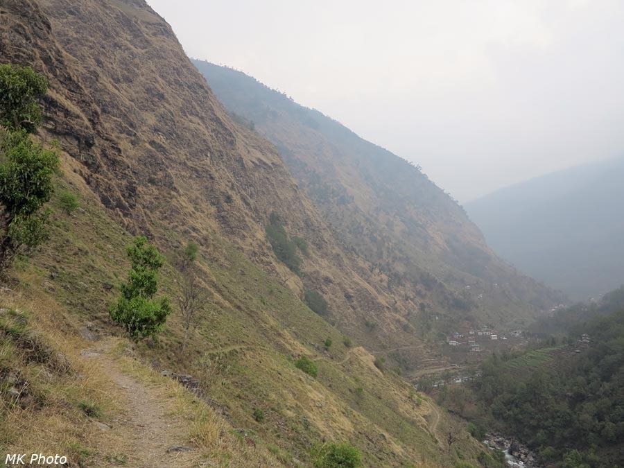 Вид в сторону Киндзы