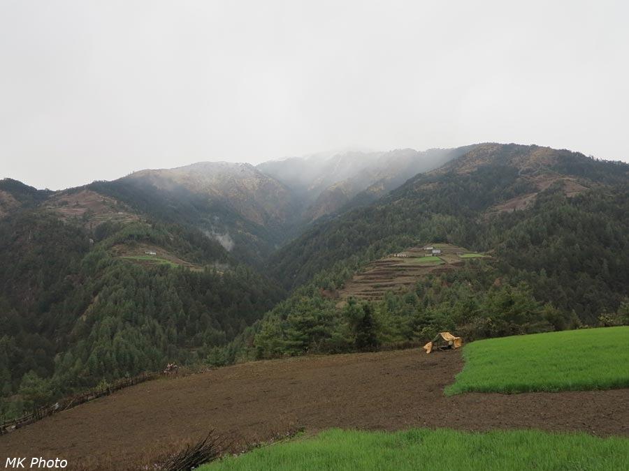 Вид на верховья Гоббо Кхолы