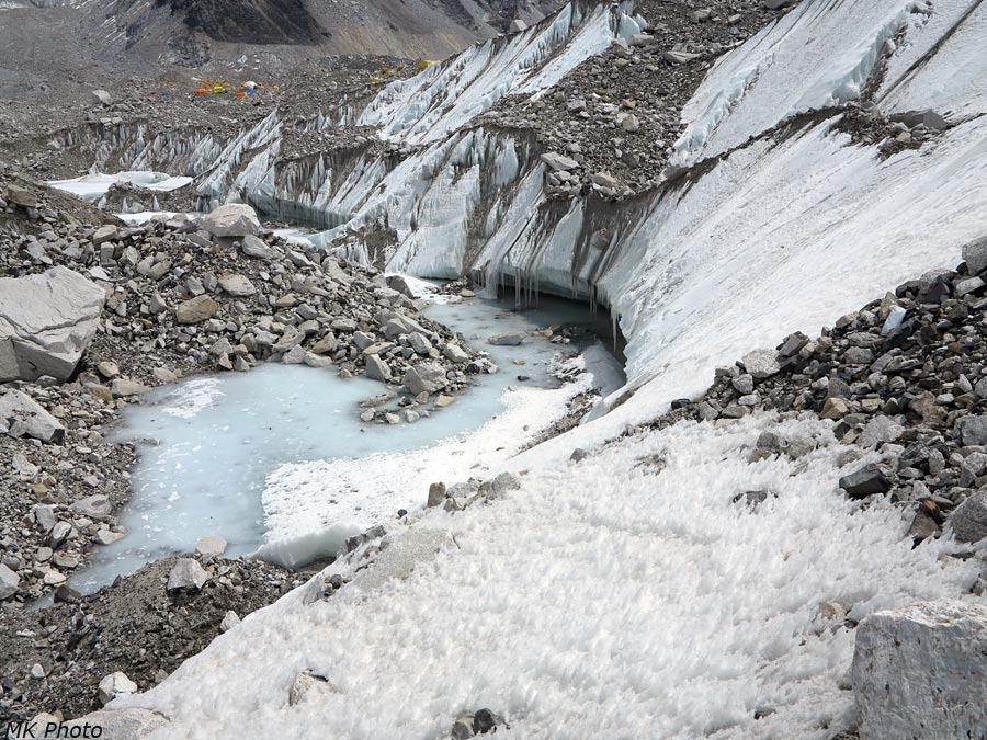 На леднике Кхумбу