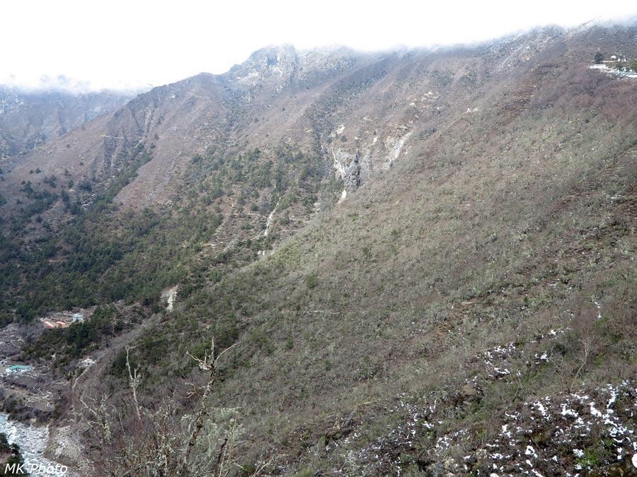 Тропы на склоне