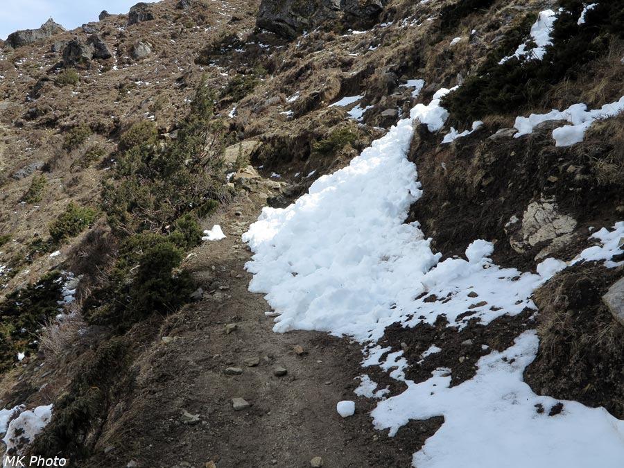 Остатки лавины