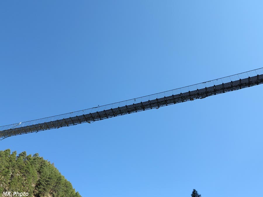 Верхний мост через Дудх Коши Нади