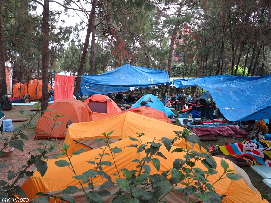 Эвакуационный лагерь