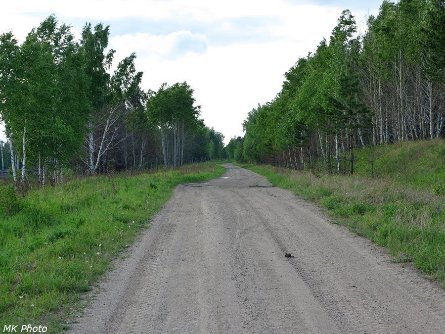 Бывшая федеральная трасса M53