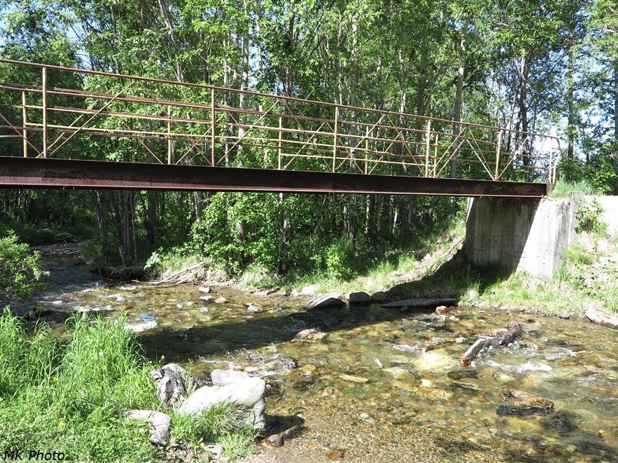 Первый мост через Харлахту