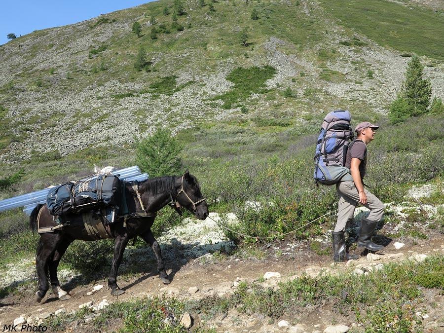 Ваня с конём