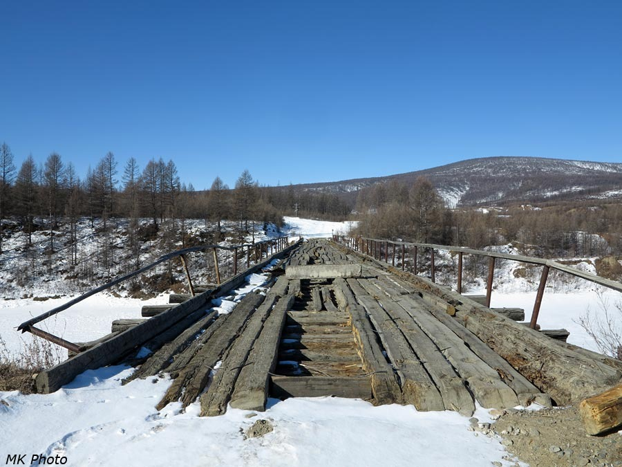 Мост через р. Ципикан