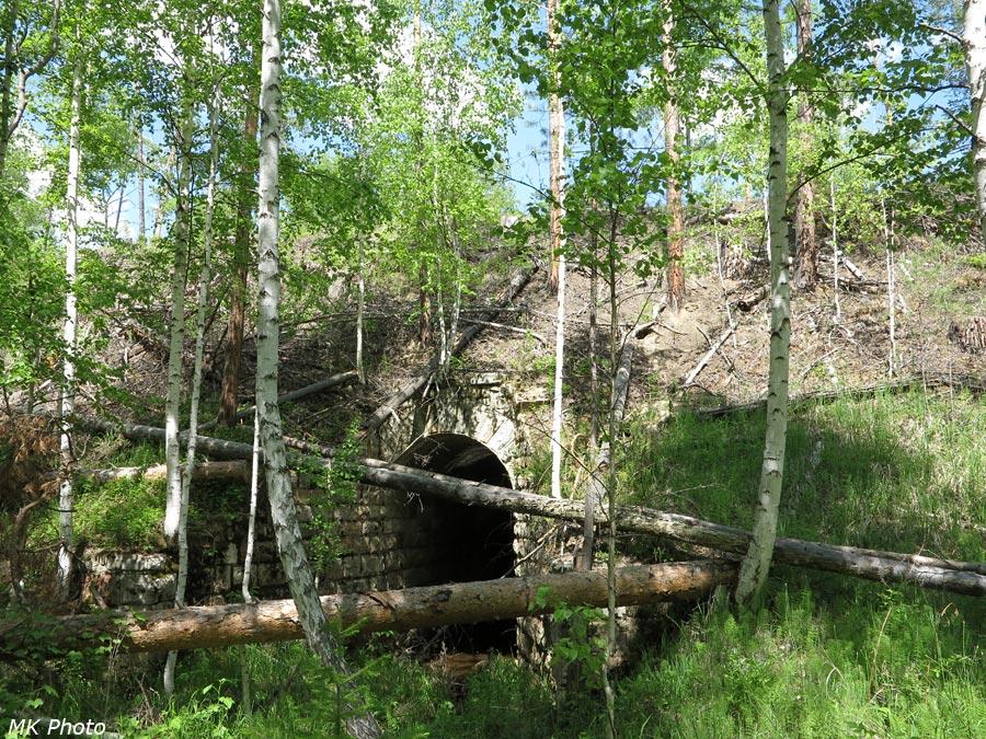 Каменная труба для ручья Водокачечного