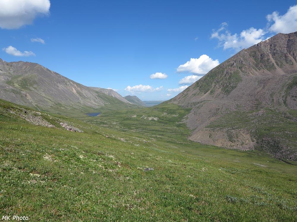 Верховья Ихе-Ухгуни и перевал Восточный Тумелик