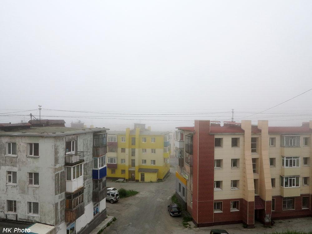 Вид из окна съёмной квартиры