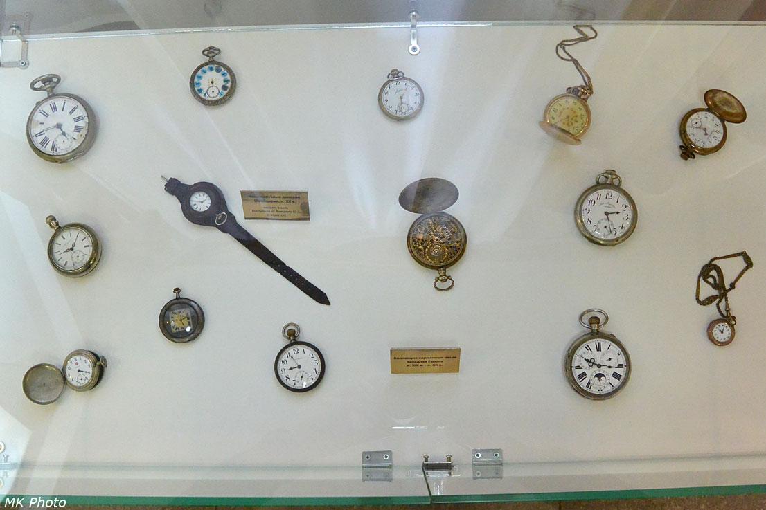 Экспонаты второго этажа