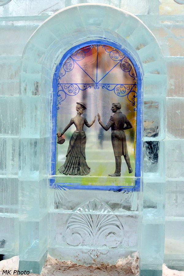 Картина на льду