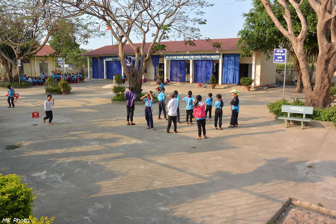 Школьный двор