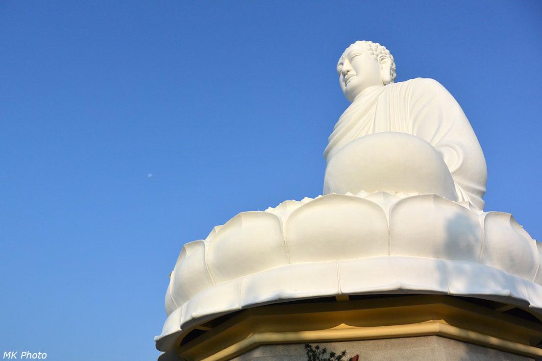 Будда и луна