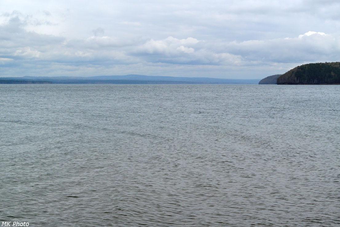 Просторы Иркутского водохранилища