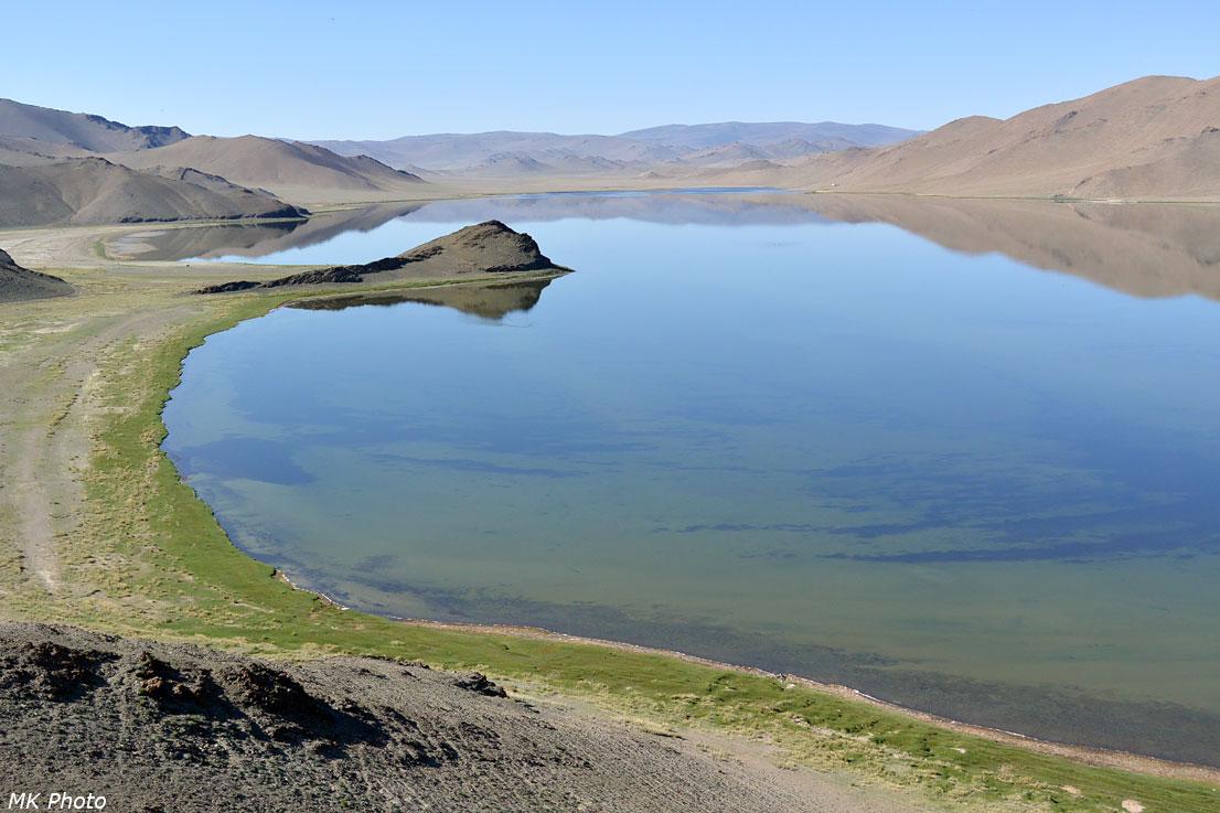 Вид на южную часть озера