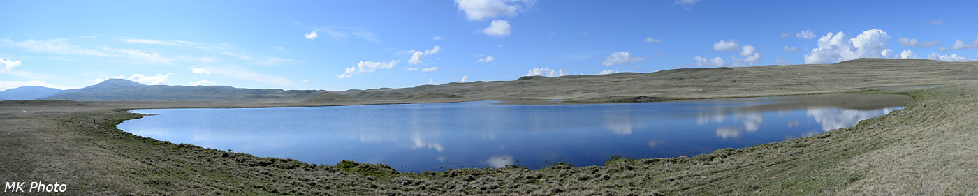 Панорама оз. Баран-Куль