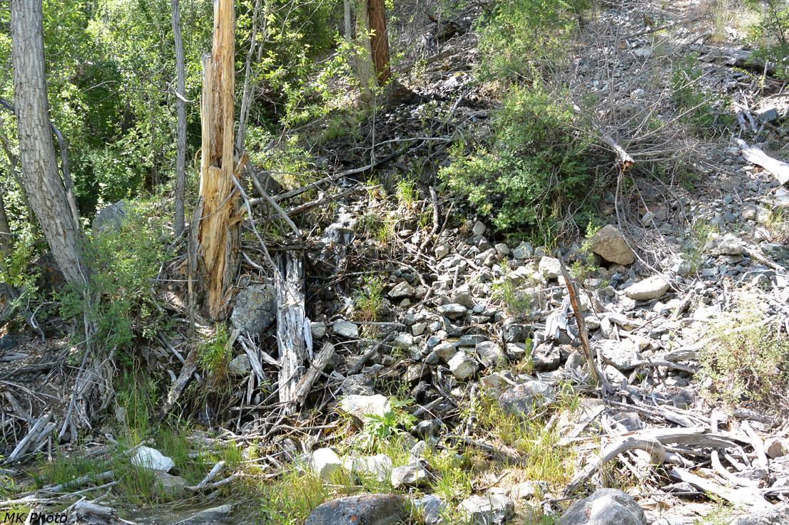 Ручей в каменной осыпи
