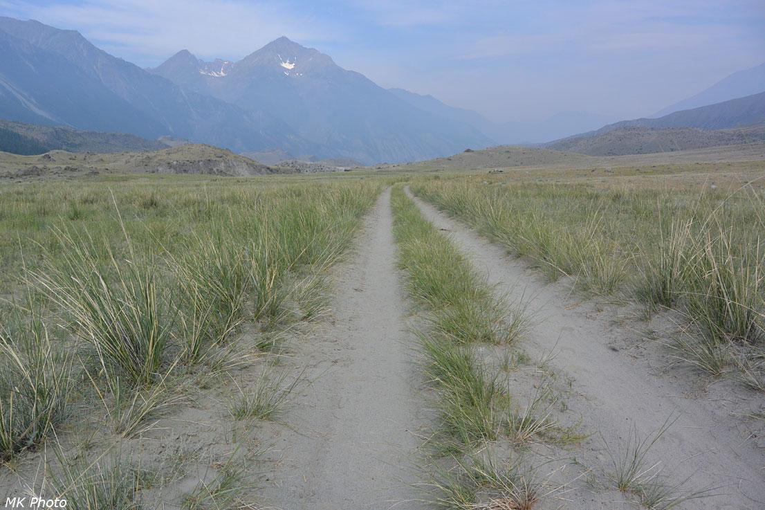 Дорога по правому берегу Аргута