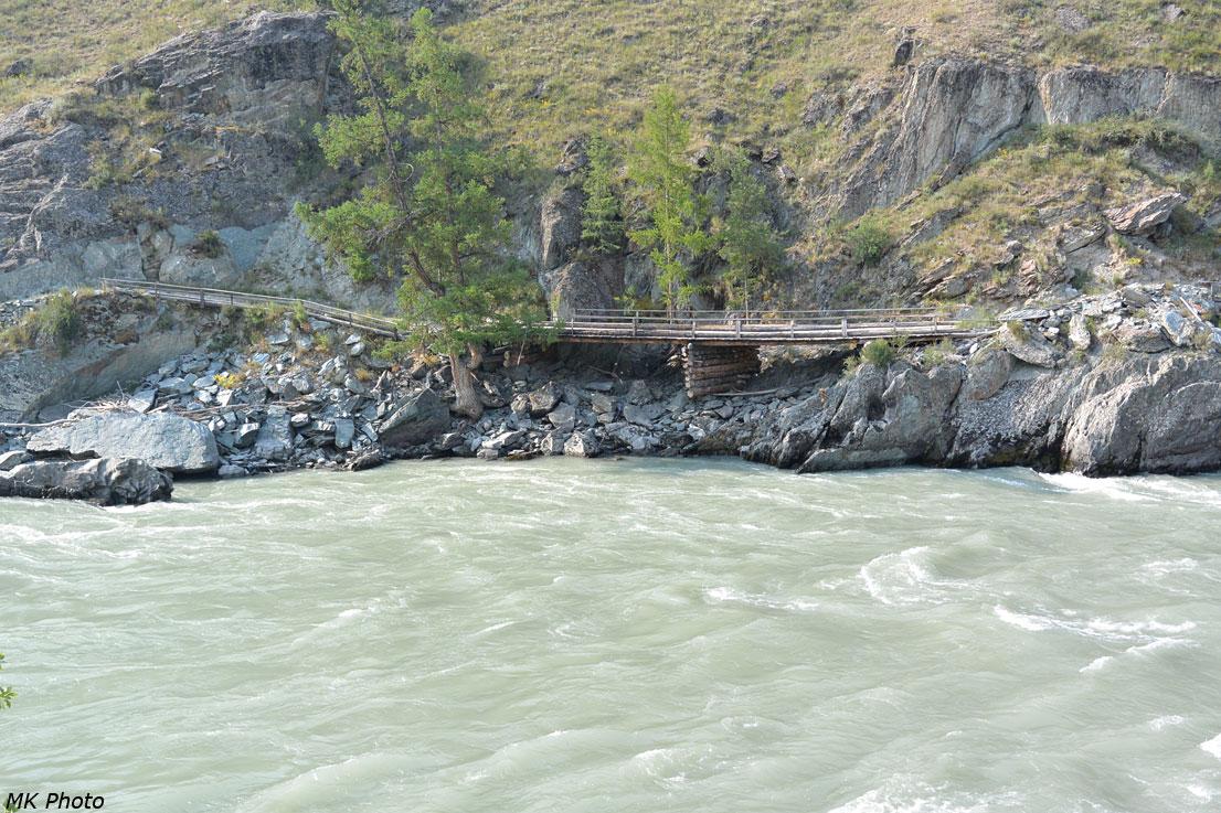 Мост над склоном