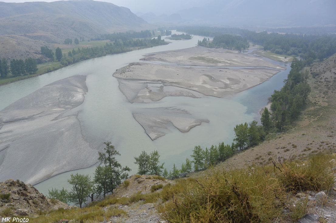 Аргут в районе устья Куркуре