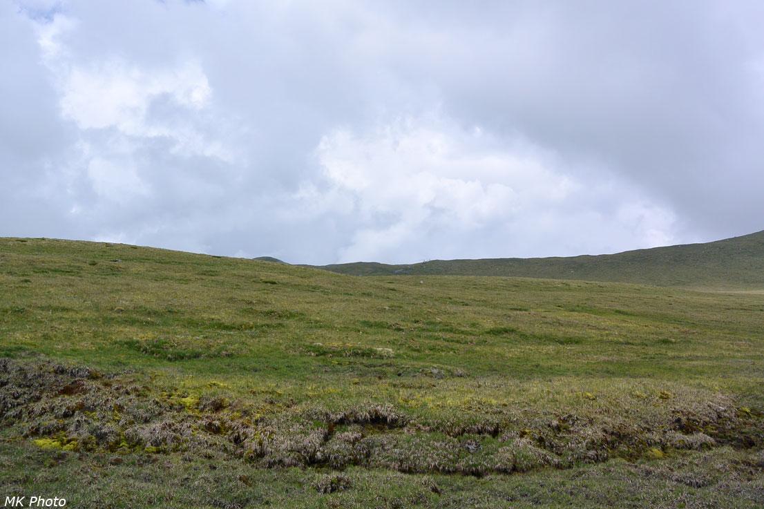 Вид на перевал Ярлу-Боч из долины Текелю