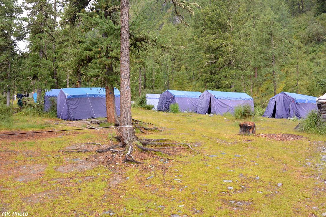 Стационарные палатки