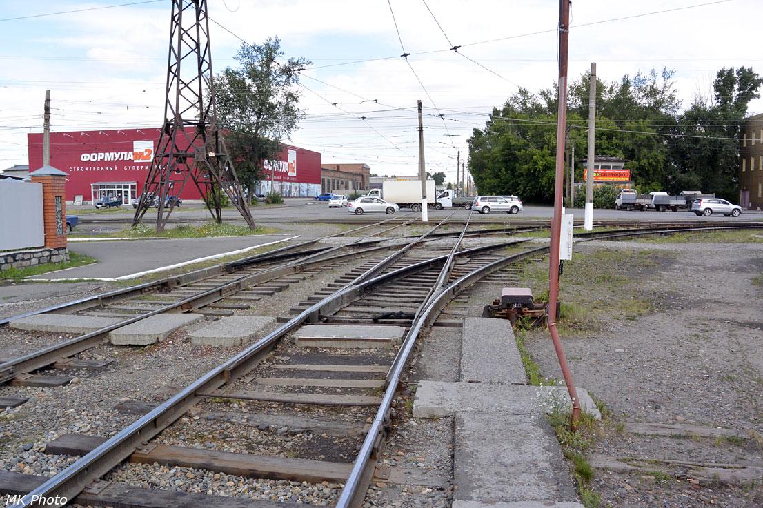 Перекрёсток улиц Васильева и Социалистической