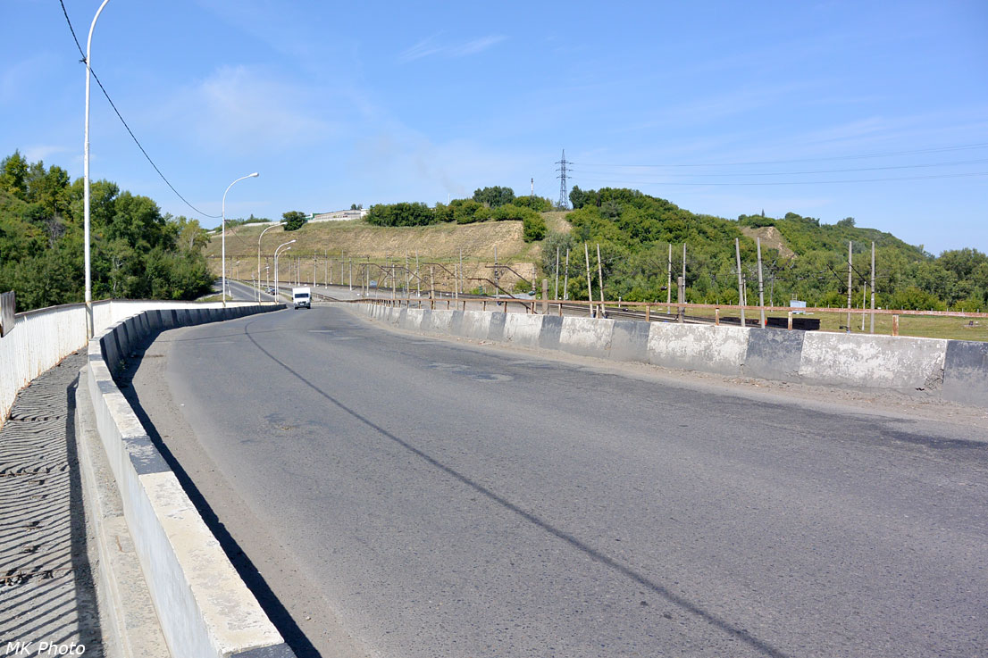Съезд с моста