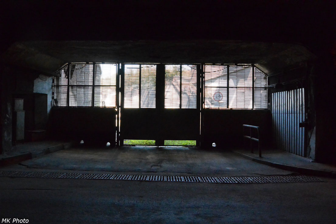Закрытый выезд из тоннеля