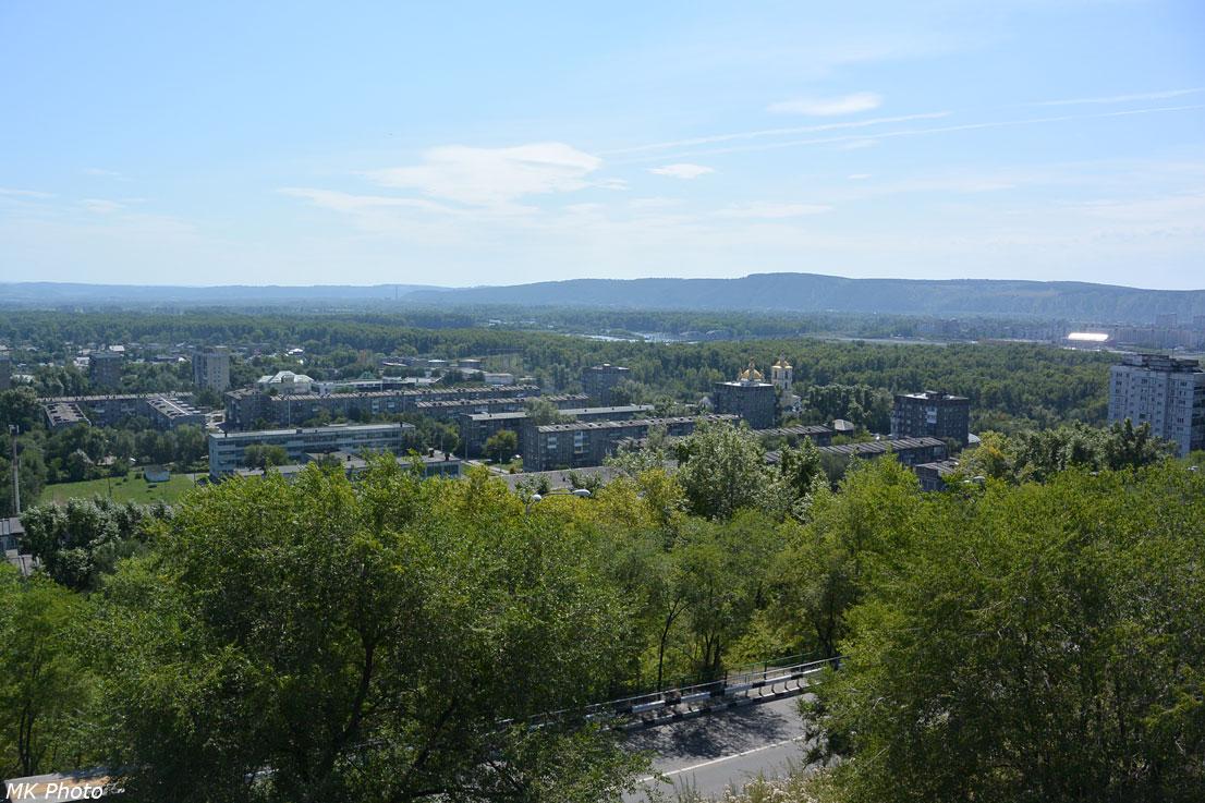 Вид с крепости на Кузнецкий район