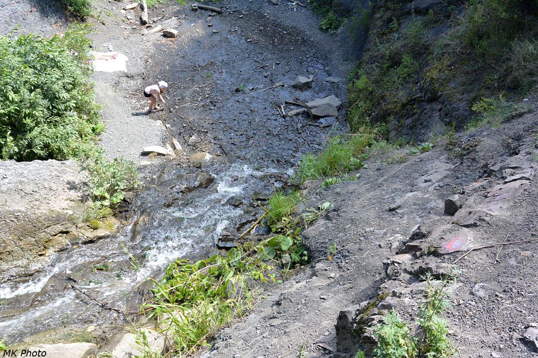 Крепостной водопад