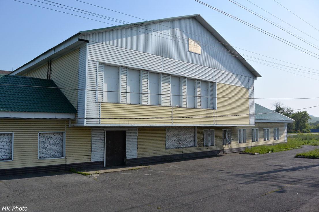 Заколоченный вокзал Ерунаково