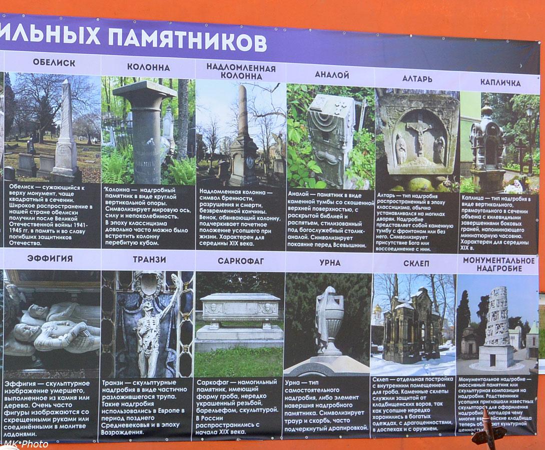 Типология намогильных памятников