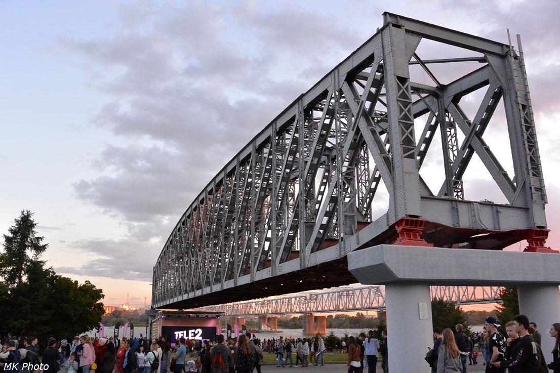 Опора царского моста через Обь