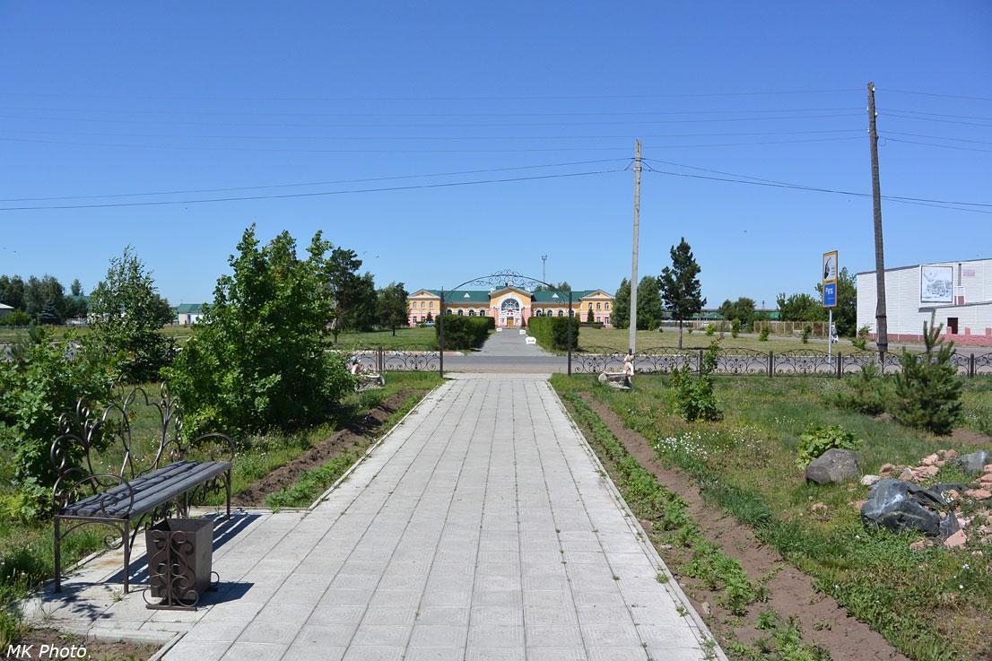 Вид в сторону вокзала