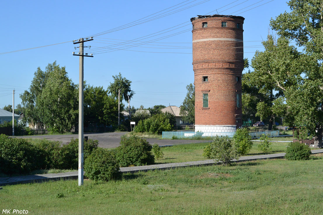 Водонапорная башня на ст. Новоблаговещенка