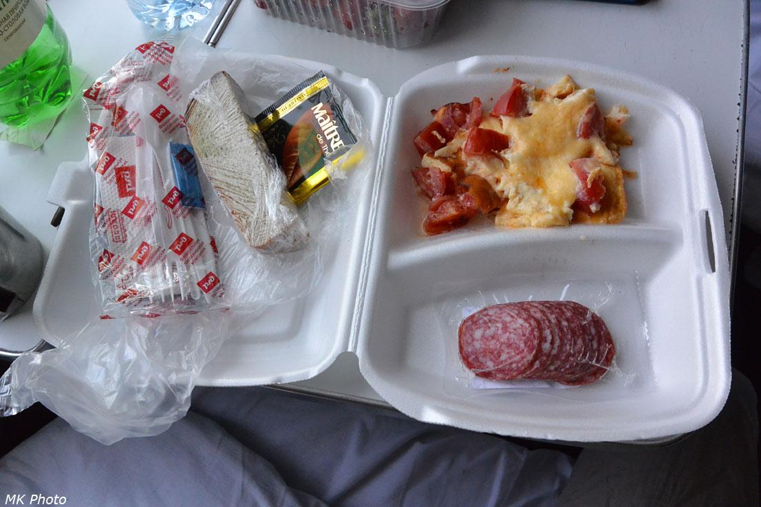 Завтрак 1-го дня