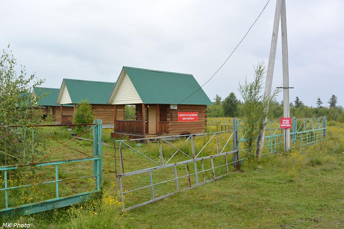 Турбаза на окраине Новоснежной