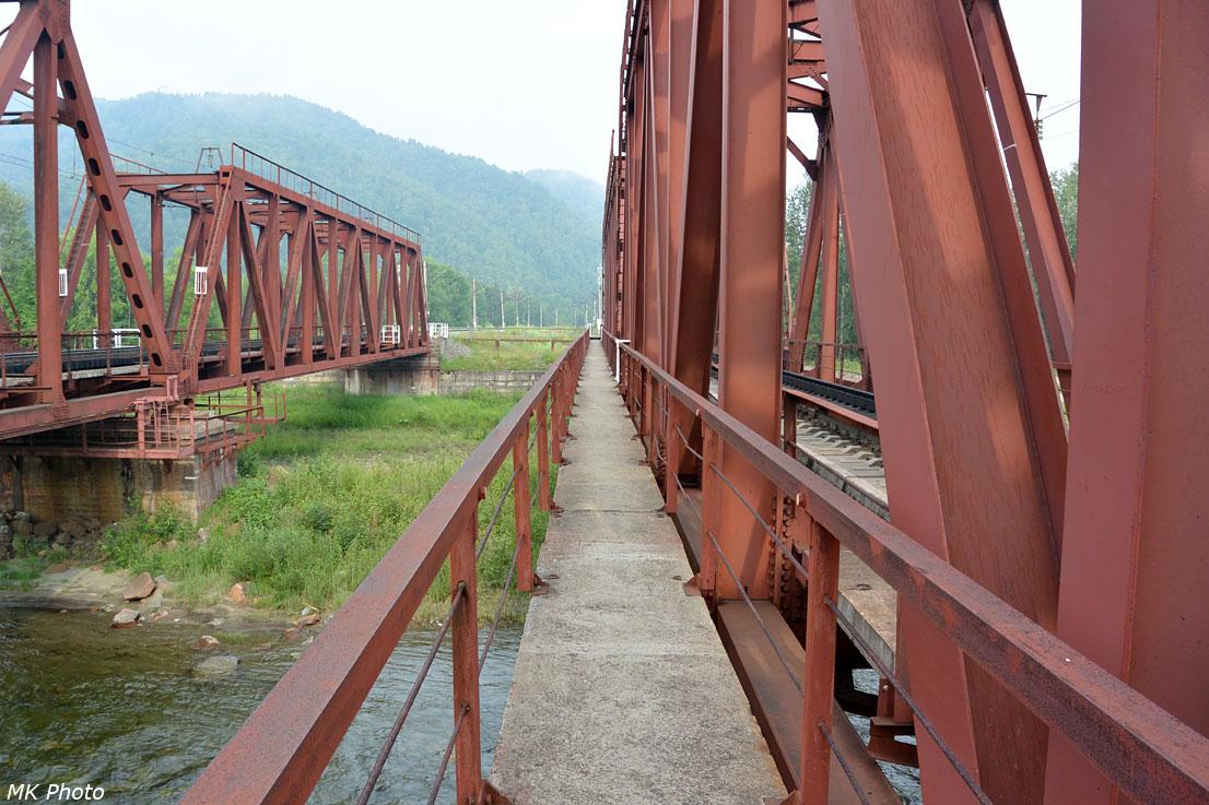 Пешеходный мост через Утулик