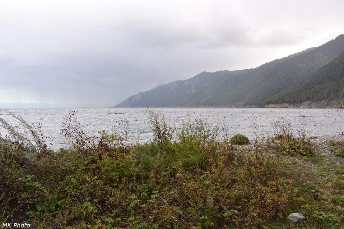 Вид от палатки на м. Малый Кадильный