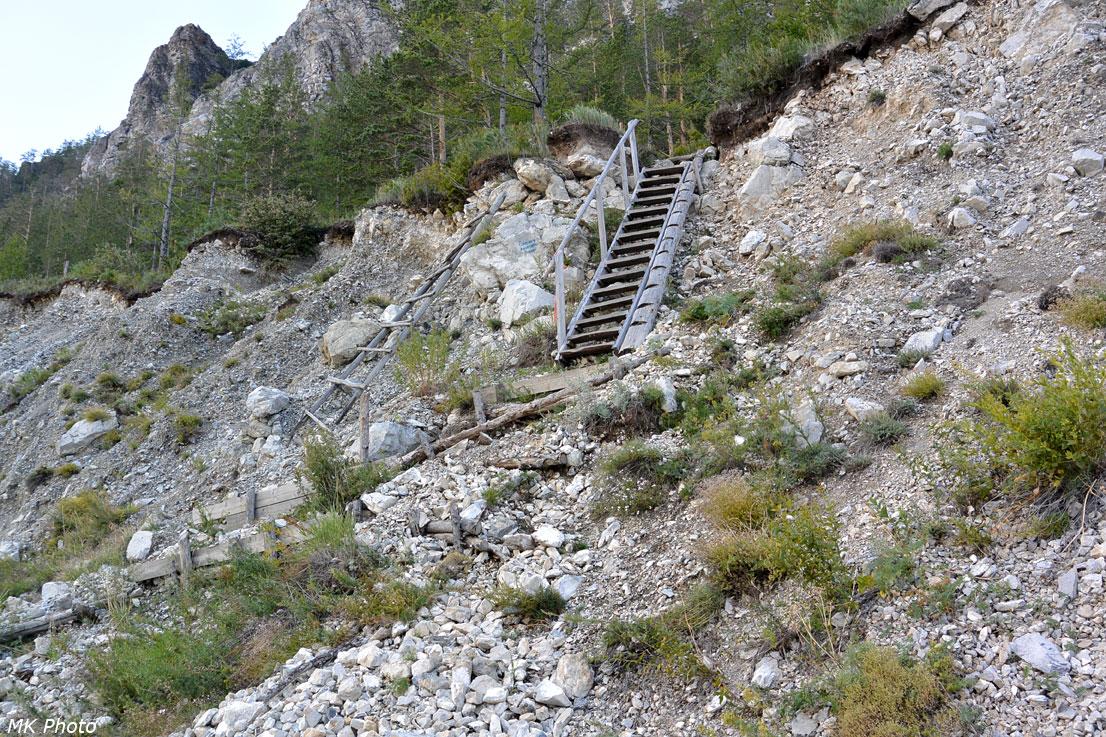 Лестница на берег