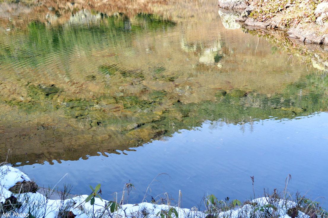 Озеро в цирке г. Поляна