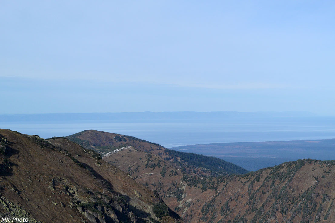 Берег Байкала в восточном направлении