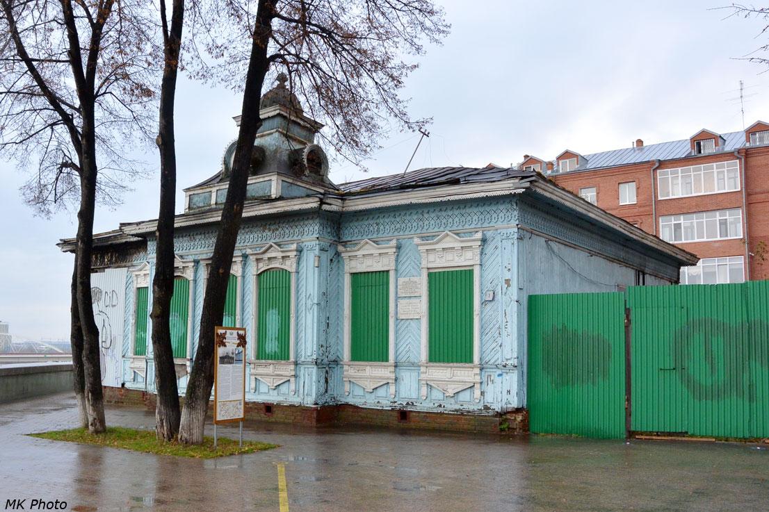 Деревянный дом конца XIX века