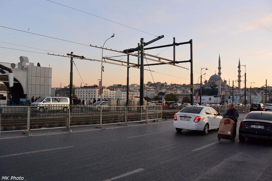 Разводная часть моста