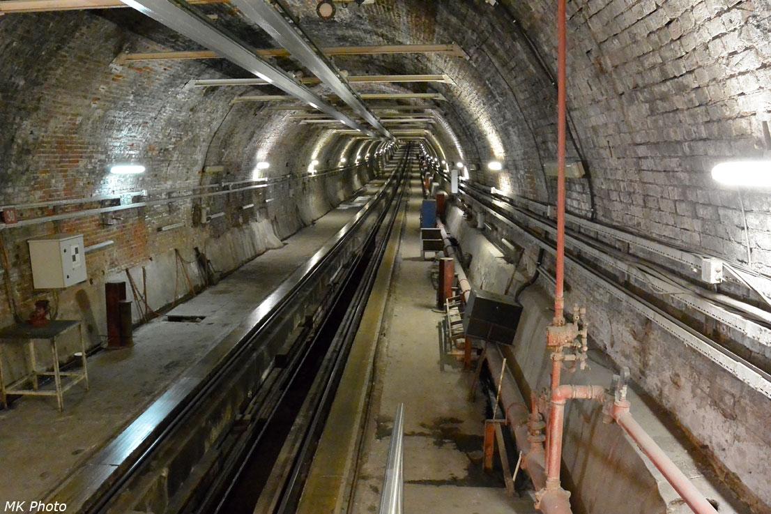 Фуникулёрный тоннель