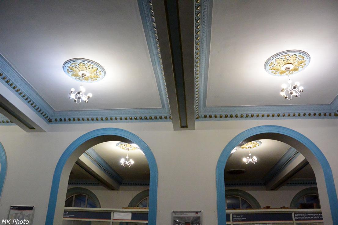 Интерьеры вокзала Арзамас-2