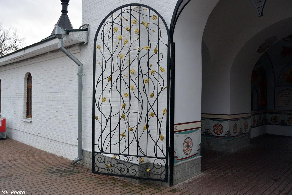 Ворота в церкви Кирилла Белозерского