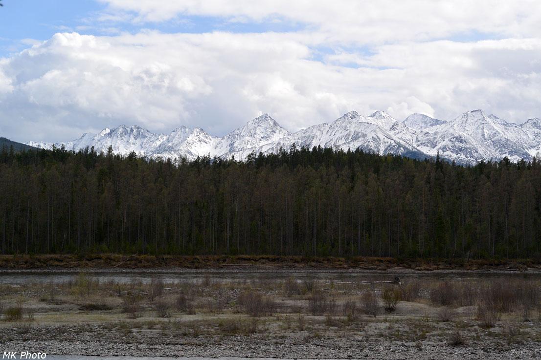 Горы, огибаемые Архутом